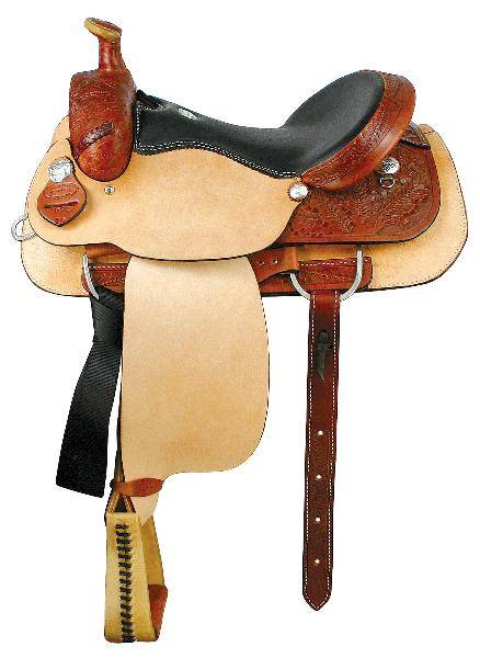 Dakota Saddlery Calf Roper Saddle