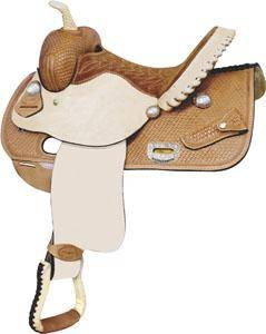 Billy Cook Saddlery Blackwood Basket Barrel Racer Saddle