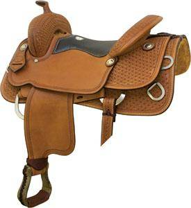 Billy Cook Saddlery Mesquite Trainer Saddle