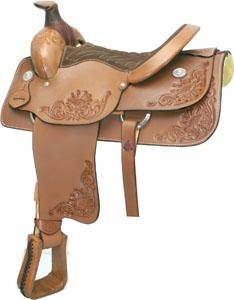 Billy Cook Saddlery 604 Roper Saddle