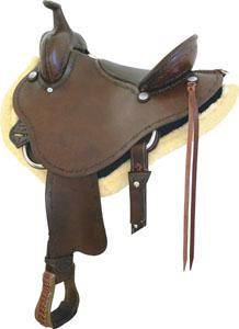 Billy Cook Saddlery Stealth Trail Saddle