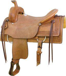 Billy Cook Saddlery Guthrie Ranch Cutter Saddle