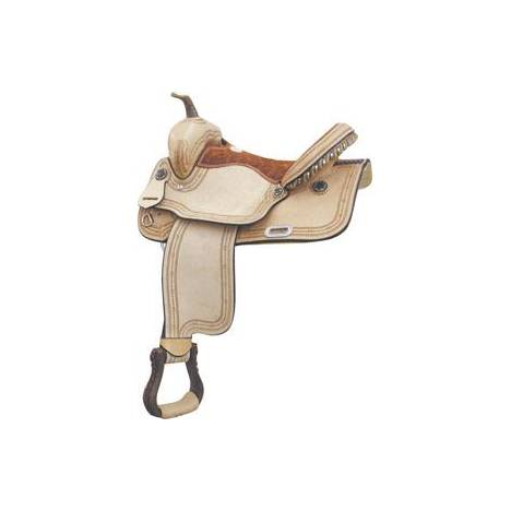 Billy Cook Saddlery Connie Combs Barbwire Racer Saddle