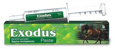 Exodus Paste Dewormer