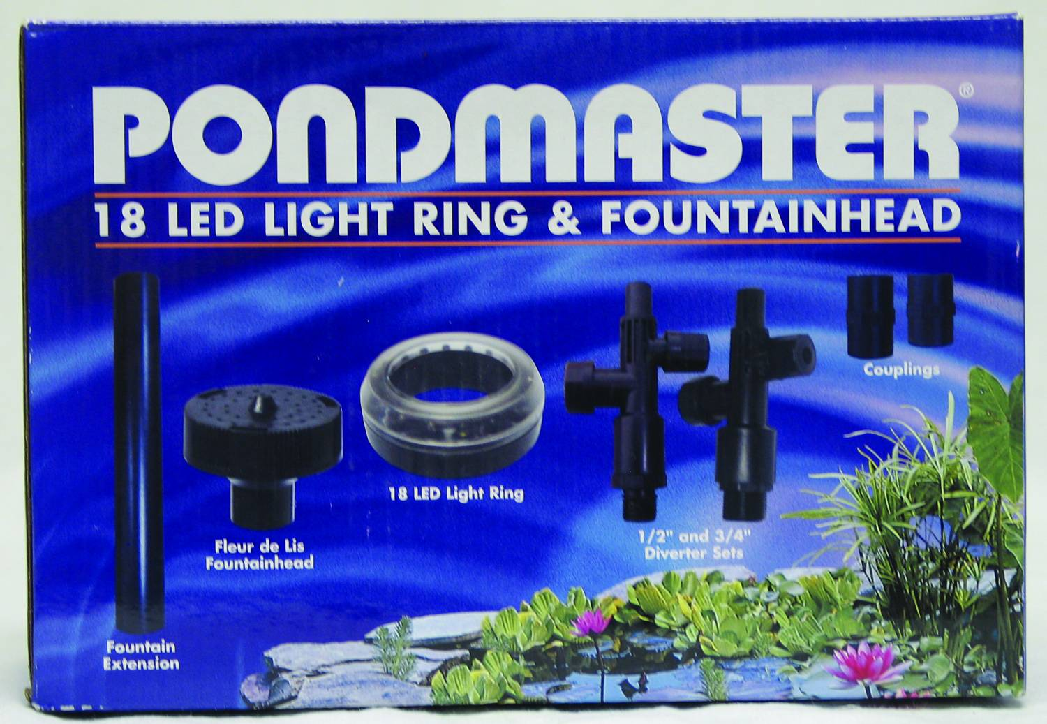 Pondmaster 18 Led Ring With Fountainhead