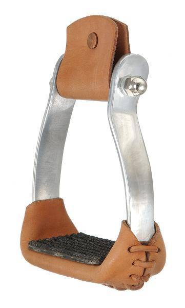 Royal King Colored AluMiniatureum Barrel Racer Stirrups
