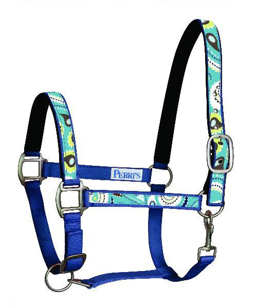 Perri's Paisley Padded Nylon Safety Halter