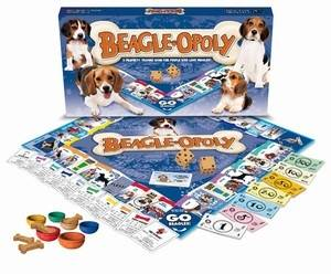 BEAGLE-OPOLY: A Board Game of Tail-Wagging Fun!