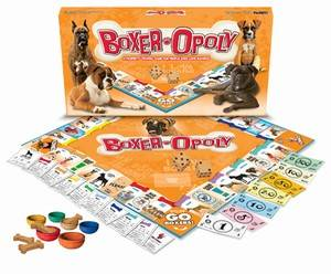 BOXER-OPOLY: A Board Game of Tail-Wagging Fun!