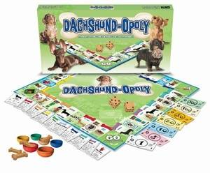 DACHSHUND-OPOLY: A Board Game of Tail-Wagging Fun!