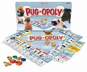 PUG-OPOLY: A Board Game of Tail-Wagging Fun!
