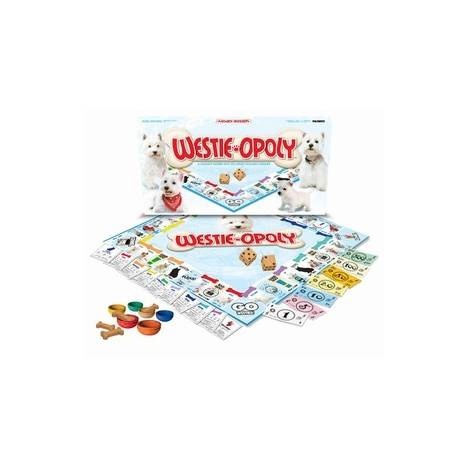 WESTIE-OPOLY: A Board Game of Tail-Wagging Fun!