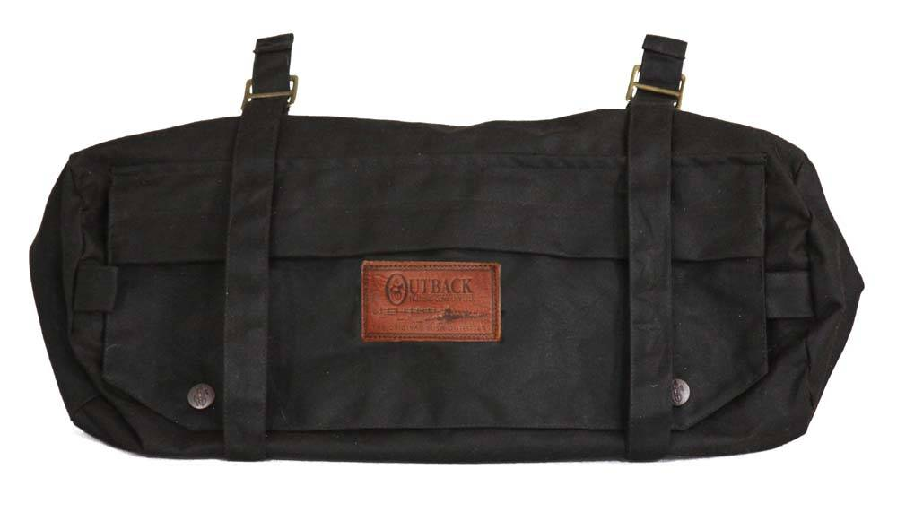 Outback Trading Oilskin Cantle Bag
