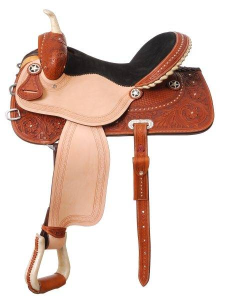 Silver Royal San Juan Barrel Saddle