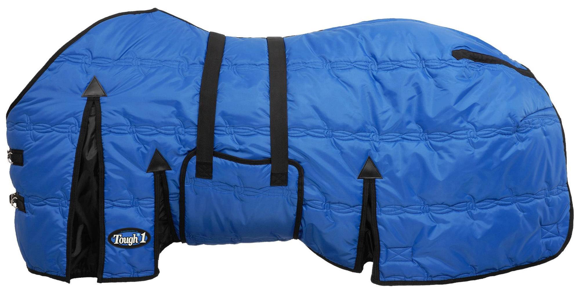 Tough-1 600D Stable Blanket with Belly Wrap