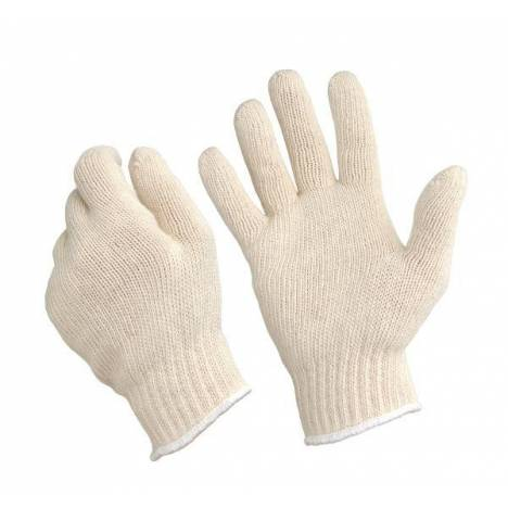 Tough-1 Poly Cotton Ropers Gloves - 12 Pack