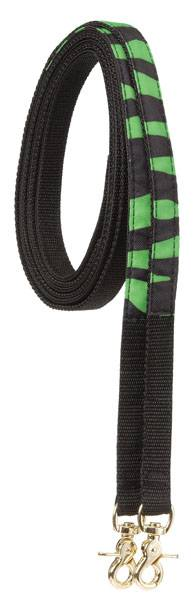 Tough-1 Zebra Print Split Reins