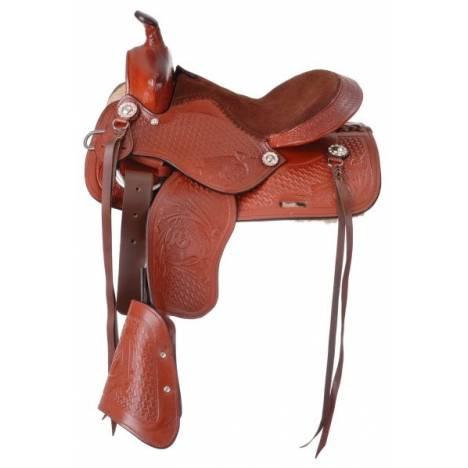 Kelly Silver Star Jr. Classic Pony Saddle Package