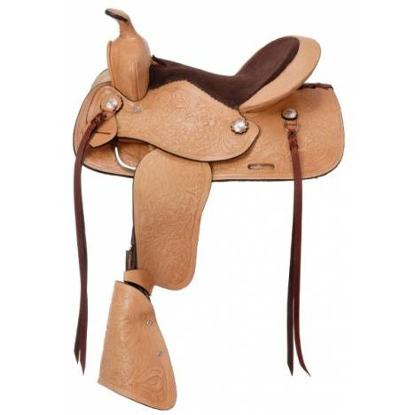 Kelly Silver Star Jr Plainsman Youth Saddle Package