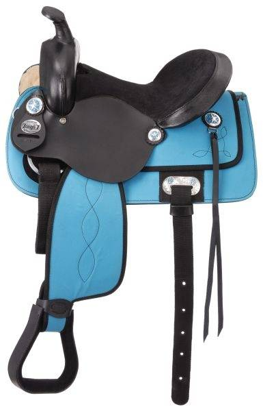King Series Krypton Western Saddle Package