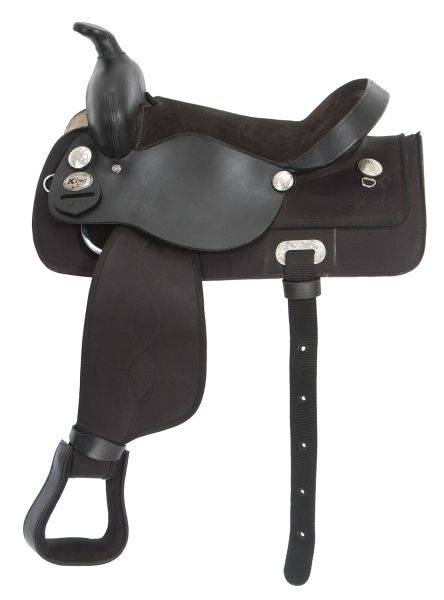 King Series Krypton Synthetic All Around Saddle Package