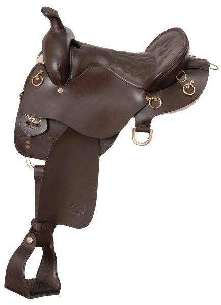 King Series Wide Trekker Endurance Saddle with Horn