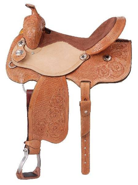 Royal King Brewster Barrel Saddle