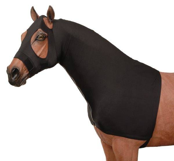 Tough-1 100% Spandex Mane Stay Hood with Full Zipper