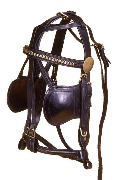 Tough-1 Leather Replacement Bridle (Miniature)