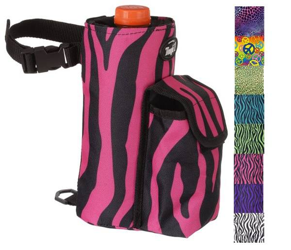 Tough-1 Bottle Holder/Cell Phone Combo Pouch in Prints