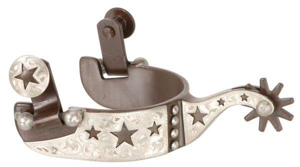 Kelly Silver Star Kids Cutout Stars Show Spurs