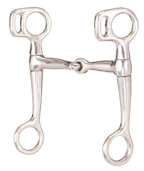 Kelly Silver Star Stainless Steel Snaffle