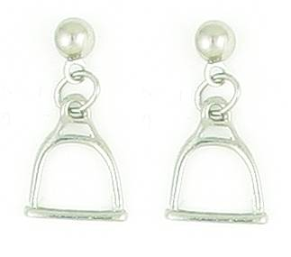 Finishing Touch Stirrup Balldrop Earrings