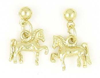 Finishing Touch Saddlebred Balldrop Earrings