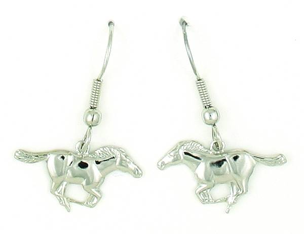 Finishing Touch Mustang Fishhook Earrings