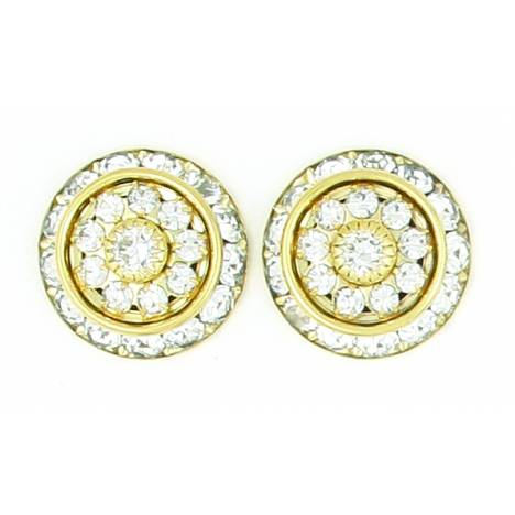 Finishing Touch Rondelle Show Earrings