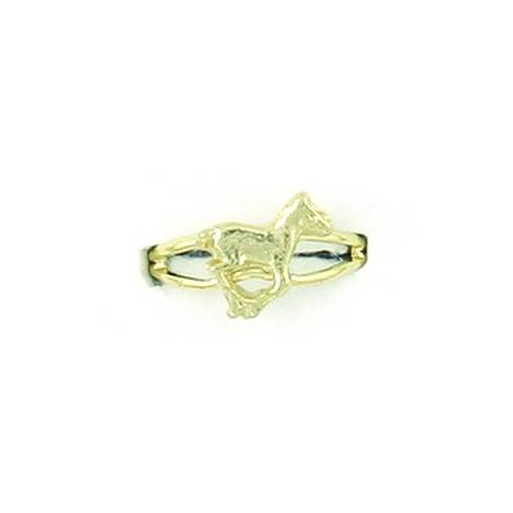 Finishing Touch Running Pony Adjustable Ring