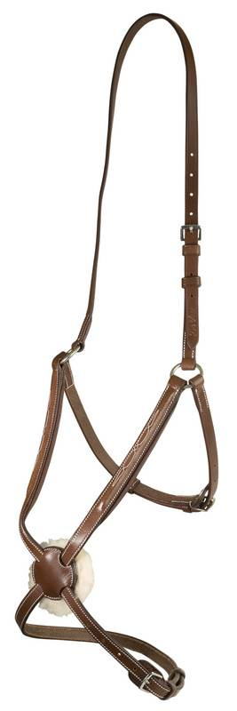 DaVinci Fancy Raised Adjustable Fig-8 Noseband