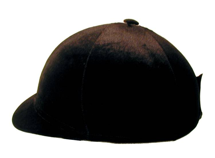 Velvet Helmet Cover with Visor