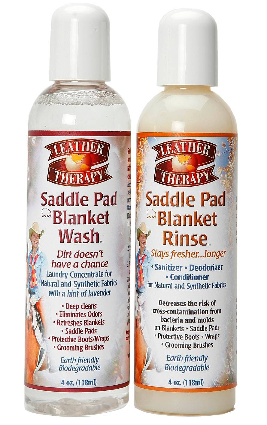 Leather Therapy Saddle Pad and Blanket Wash Gift Set
