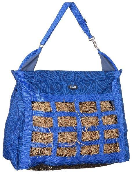 Tough-1 Heavy Denier Nylon Hay Tote with Dividers - Tribal Tattoo Print