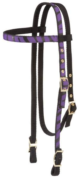 Tough-1 Browband Headstall - Animal Prints
