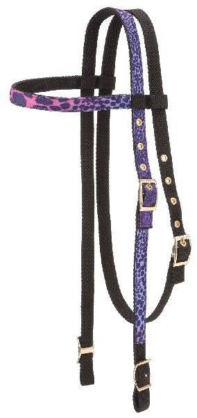 Tough-1 Fun Animal Print Browband Headstalls