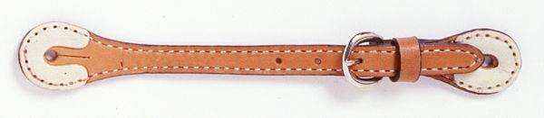 Tough-1 Rawhide Accented Spur Straps