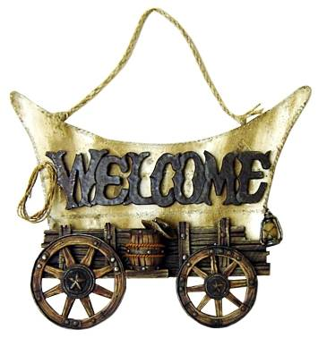 Gift Corral Welcome Sign
