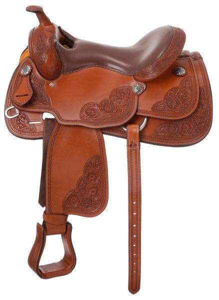 Silver Royal Rio Grande Reiner Saddle Package