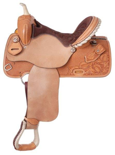 Silver Royal Premium Liberty Barrel Saddle