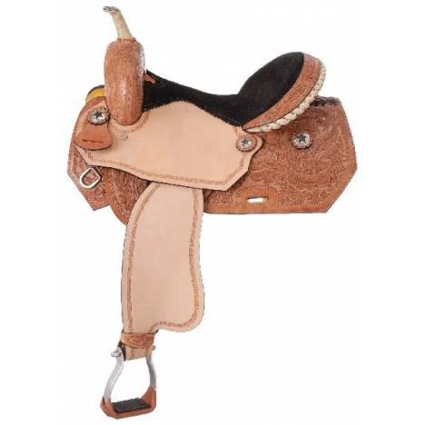 Royal King Blackwell Barrel Saddle