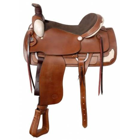 Royal King Rawhide Roper Saddle