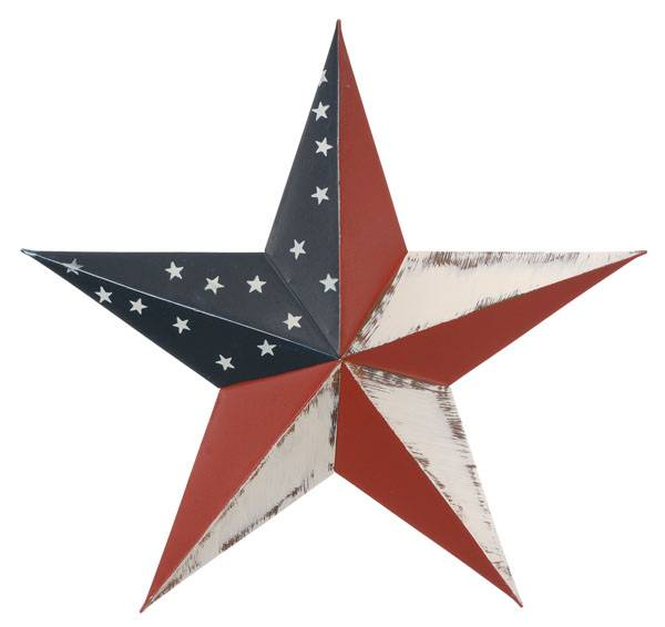 Gift Corral Patriotic Star
